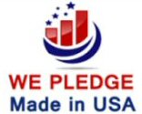 We Pledge Made in USA
